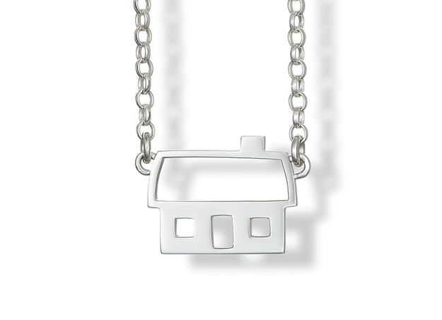 Silver Cottage Pendant