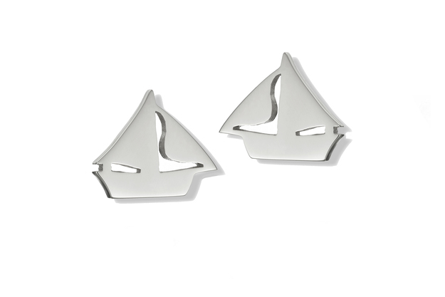 Traditional Irish Sailing Boat Earrings