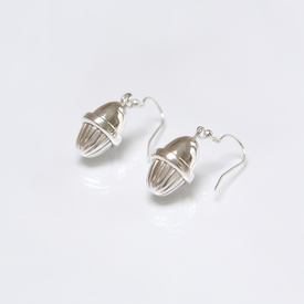 Sterling Silver Acorn earrings