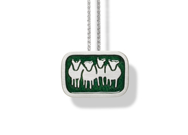 Deirdre O'Donnell Goldsmith Enamel Jewellery