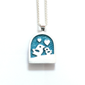 Enamel Jewellery Gift Irish Silver