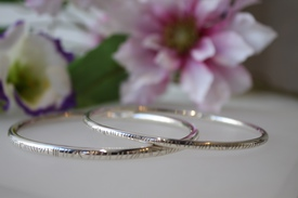 Deirdre O'Donnell Goldsmith Silver Bangle Jewellery